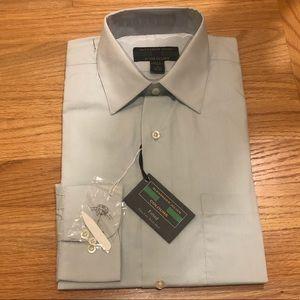 Alexander Julian blue dress shirt S 14 1/2 32/33